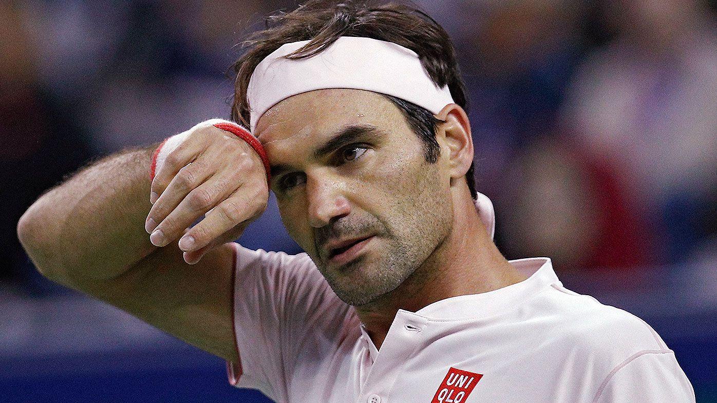 Roger Federer leaves commentators speechless after stunning backhand winner against Kei Nishikori