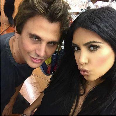 Jonathan Cheban, Kim Kardashian selfie, Instagram