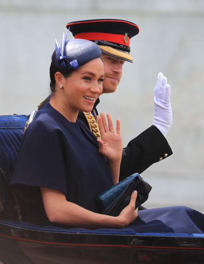 Trooping the Colour: The Duke and Duchess of Sussex