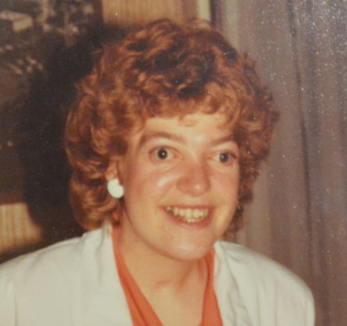 Ms Woolsey on her 19th birthday, when she started university to become a teacher.