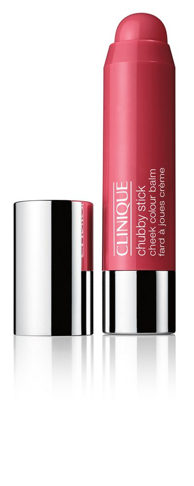 "<a href=""https://www.clinique.com.au/product/1593/30944/Makeup/Blushers/NEW-Chubby-Stick-Cheek-Colour-Balm"" target=""_blank"">Clinique Chubby Stick Cheek Colour Balm in Roly Poly Rosy, $42.</a>"