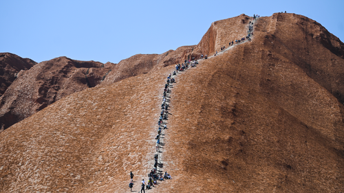 New Uluru climb