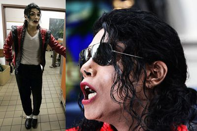 """Michael Jackson impersonator 'Navi' underwent numerous surgeries to keep up with the King of Pop's ever-transforming looks in the 80s and 90s. The performer says his extensive cosmetic procedures """"have taken my work and my strength as an impersonator to different levels"""". That's dedication to your career! Despite Jackson's death, Navi still gets regular work."""