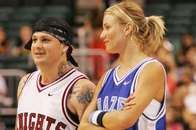 Flashback to 2004, when they played together in 'N Sync's Challenge for the Children charity basketball game.<br/><br/>#BESTPHOTOEVER.<br/><br/>Image: Getty