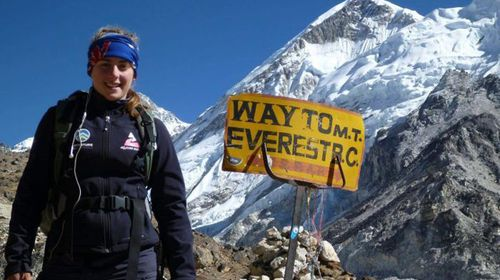 Alyssa Azar, youngest Aussie to scale Everest, safely back at base camp