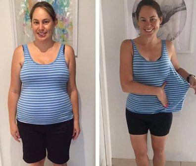 Beth Azzopardi Healthy Mummy lost 20 kilos