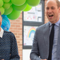The Duke and Duchess of Cambridge attend a tea party to thank healthcare workers