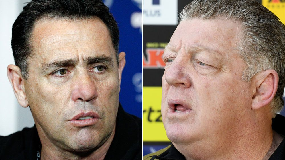 NRL news: Phil Gould, Shane Flanagan bury the hatchet over Matt Moylan and James Maloney player swap