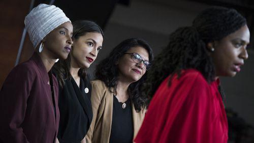 Ilhan Omar, Alexandria Ocasio-Cortez, Rashida Tlaib and Ayanna Pressley have responded to Donald Trump's racist tweets.