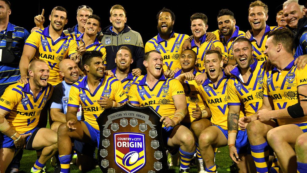 2017 winning City Origin team.