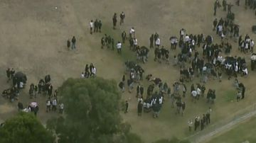 Melbourne school evacuated during police 'safety check'