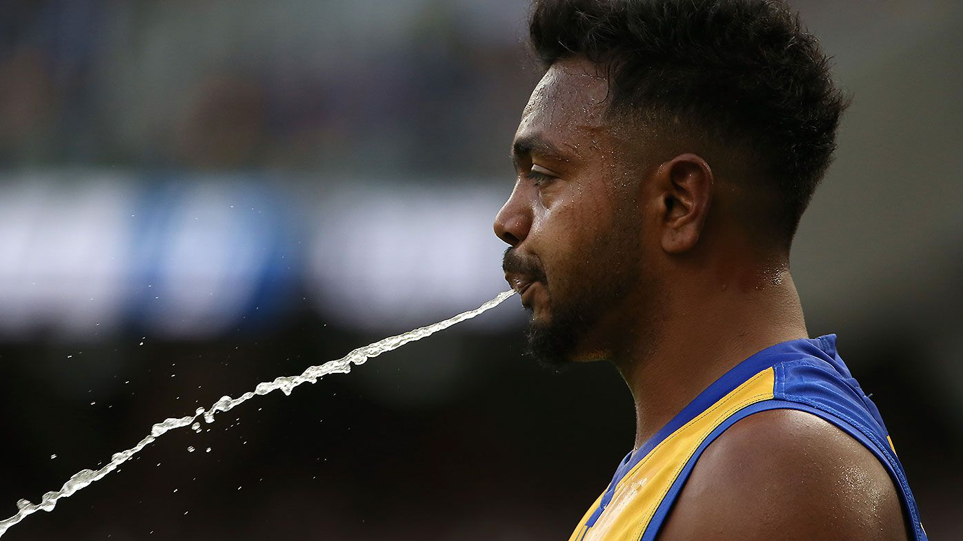 West Coast Eagles star Willie Rioli tests positive to cannabis