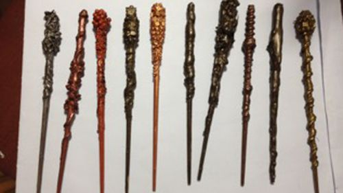 Each student in the class got their own wand. (Christine Coleman)