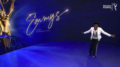 Leslie Jones presents the nominees for the 72nd Primetime Emmy Awards