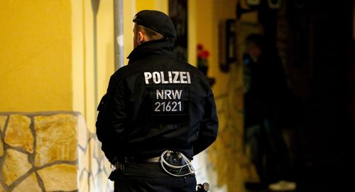 Police officer involved in Mafia raids.