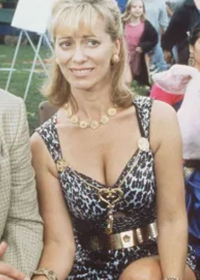 Then: Kerry Armstrong as Heather Jelly
