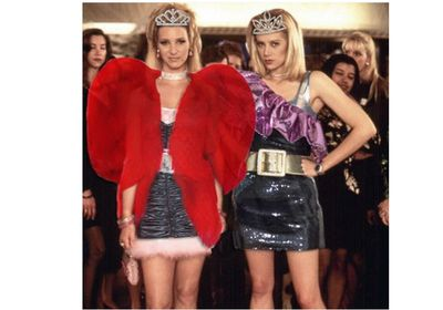<em>Romy and Michele's High School Reunion</em> gets the Saint Laurent treatment.