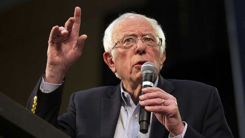 Bernie Sanders has had disappointing results in southern states on Super Tuesday.