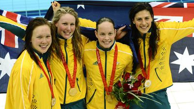 Beijing 2008: Women's 4x200m freestyle relay
