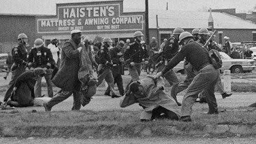 The brutal and unprovoked beating of a young John Lewis galvanised the civil rights movement in 1965.