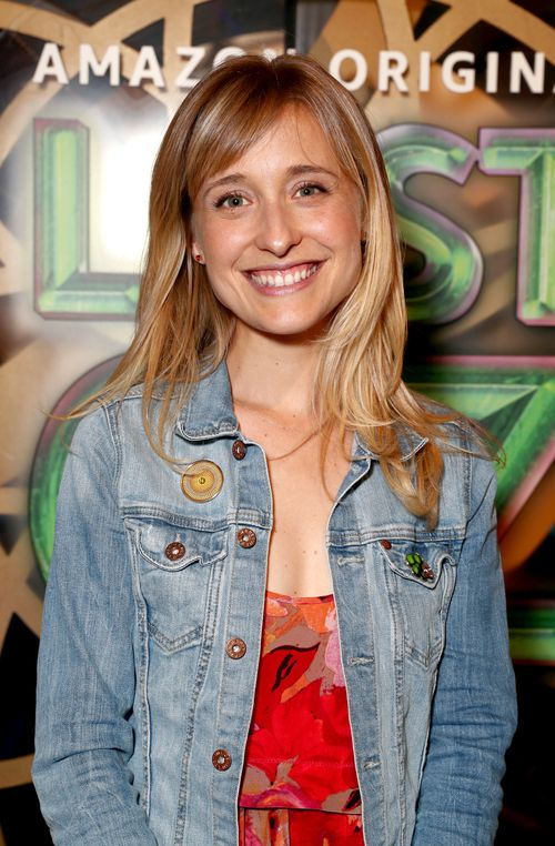 Nxivm has attracted a following that includes Emmy Award-winning actress Allison Mack (Photo by Todd Williamson/Getty Images for Amazon Studios)