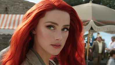 Amber Heard played Mera in Aquaman.