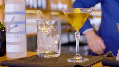 """Recipe: <a href=""""https://kitchen.nine.com.au/2017/11/24/10/05/classic-gypsy-queen-cocktail"""" target=""""_top"""">Classic Gypsy Queen cocktail</a>"""