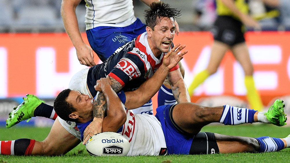 Sydney Roosters Mitchell Pearce seals NSW jumper in win over Bulldogs