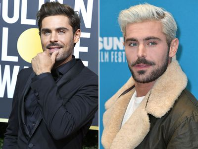 Zac Efron Dyes His Hair Platinum Blonde 9style