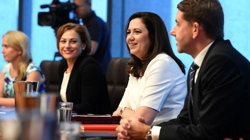 Premier Annastacia Palaszczuk stressed the need to fix the state's economic. (AAP)
