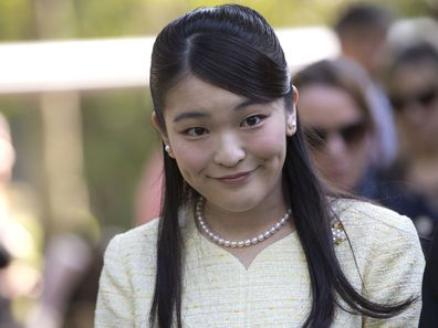 Japan's Princess Mako.