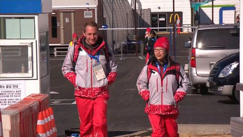 For Theresia Citra and Myles Smith, voluteering is like winning gold. (9NEWS)