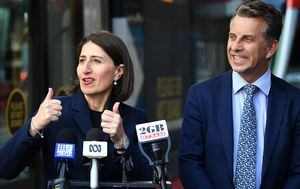 Gladys Berejiklian 'relaxed' about NSW abortion bill debate after tumultuous week in NSW politics