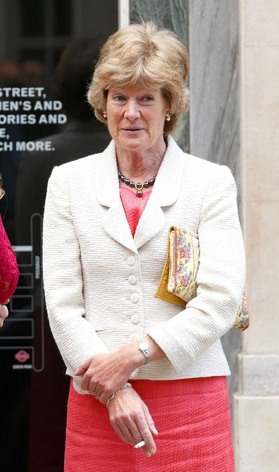 Lady Sarah McCorquodale ahead of the wedding of Alexander Fellowes in 2013.
