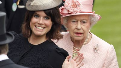 Princess Eugenie and Queen Elizabeth