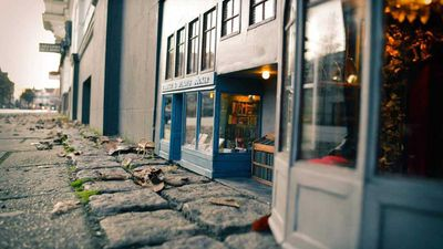 Adorable mouse-sized shopfronts pop up on Sweden's streets