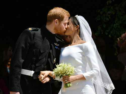 Prince Harry and Meghan Markle, now titled the Duke and Duchess of Sussex, are officially married.
