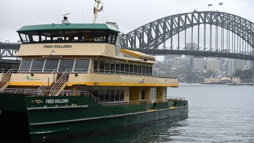 The Fred Hollows, an Emerald-class ferry tipped to replace the Freshwater class of ferries.