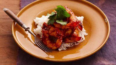 "<a href=""http://kitchen.nine.com.au/2016/05/16/16/21/dry-fried-chilli-prawns"" target=""_top"">Dry fried chilli prawns<br /> </a>"