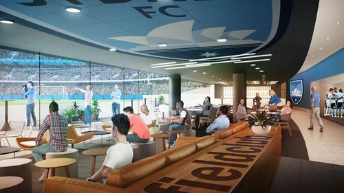 The new facilities at Allianz Stadium have been welcomed by Sydney FC.