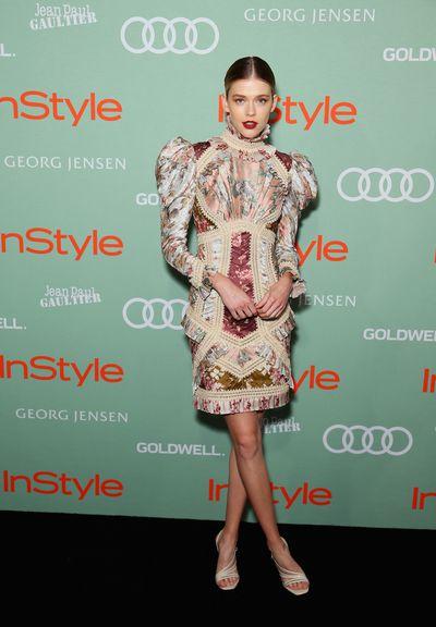 Victoria Lee in Zimmermann at the 2018<em>&nbsp;InStyle and Audi Women of Style</em>&nbsp;awards