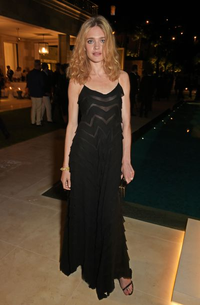 Natalia Vodianova in Calvin Klein Collection