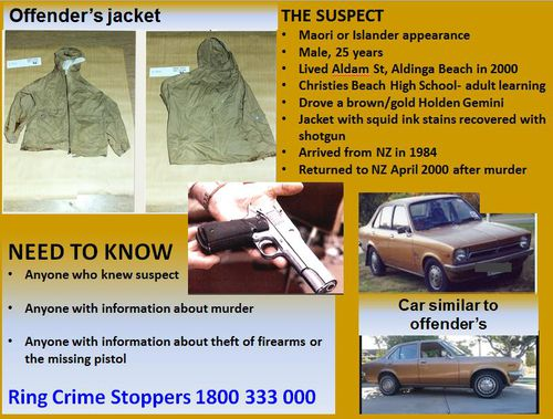 Police have asked anybody with information about the above to come forward. (SA Police)