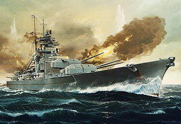 Daily Quiz: Which navy sank the German battleship Bismarck in World War II?
