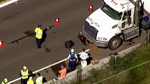 Emergency services were called to the crash at Lawson. (9NEWS)