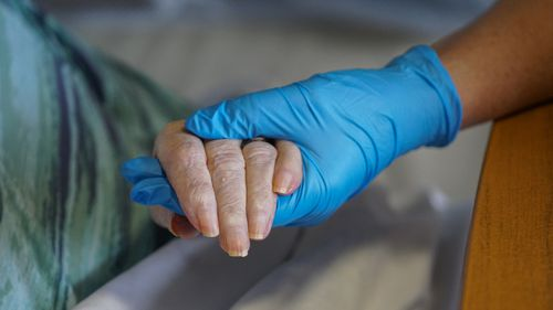 New data shows two in three workers in Australia's aged-care sector have not been fully vaccinated from the deadly COVID-19 virus.