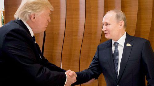 Putin, Trump shake hands at G20 summit