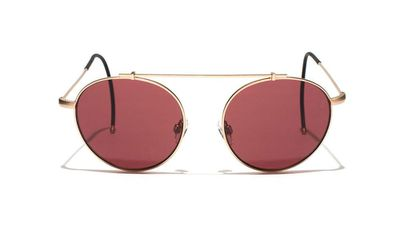 """<a href=""""http://www.epokhe.co/collections/eyewear/products/xoa-gold-rose""""> XOA Glases in Rose Gold, $299 Epokhe Optics </a>"""