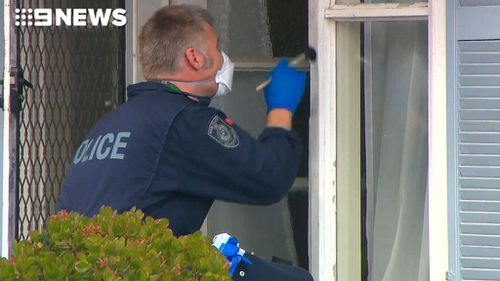 Police are investigating the attempted murder which happened overnight. (9NEWS)