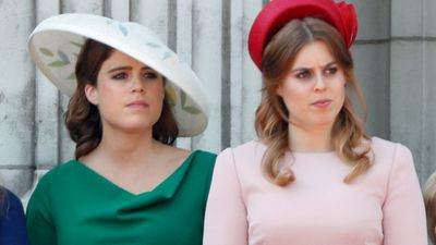 Princess Eugenie and Princess Beatrice at Trooping the Colour 2018